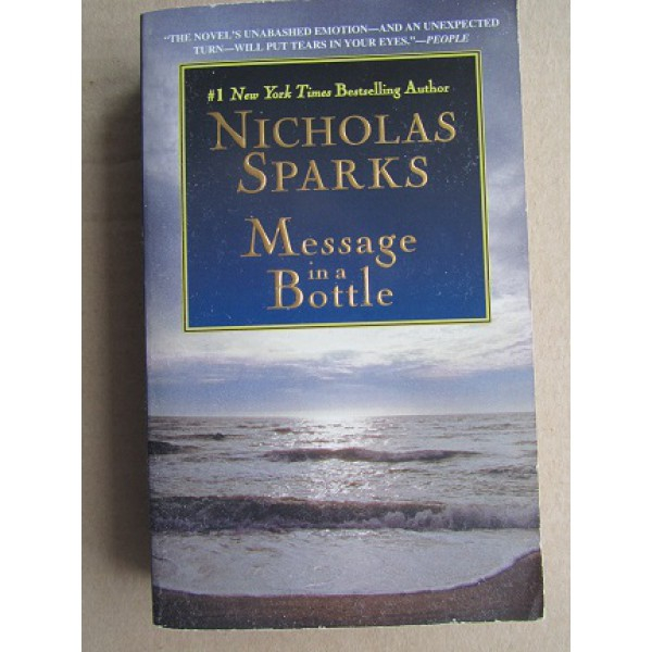 Message in a Bottle (автограф: Nicholas Sparks)