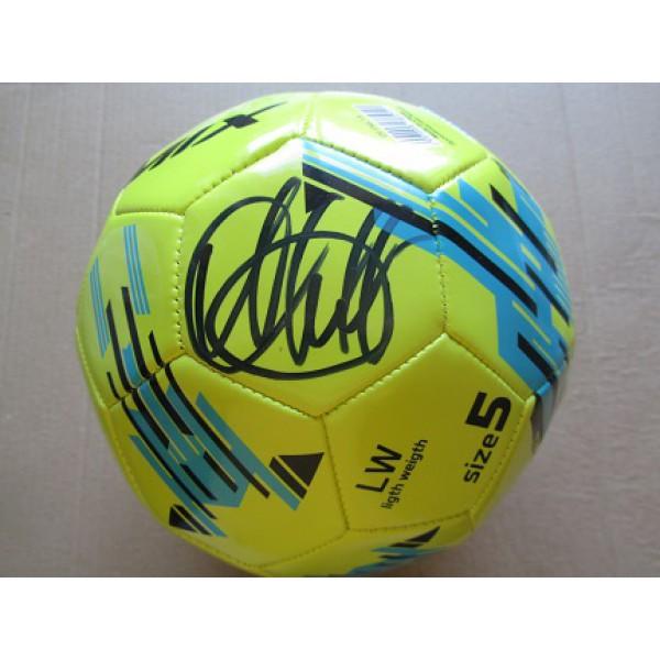 Футбольный мяч с автографом Александра Кержакова (автограф: Александр Кержаков)