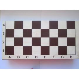 Шахматная доска, дерево, 30 х 30 см. (автограф Сергея Карякина)